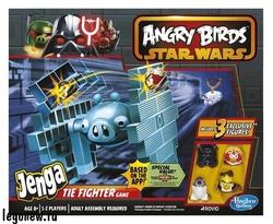Hasbro A4804H Игра Дженга Истребитель класса Тай