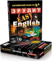 Настольная игра Эрудит Биплант Easy English (131 фишка, мешочек для фишек, словарь) от 7-ми лет