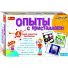 Настольная игра Ranok-Creative Опыты с кристаллами 0320