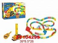 """Домино """"Zhorya + машина на батарейках 1 Toy"""