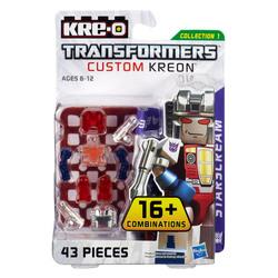 Конструктор с минифигуркой Трансформер Starscream 16-в-1, из серии Custom Kreon, KRE-O Transformers, Hasbro [A6089]