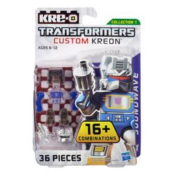 Конструктор с минифигуркой Трансформер Soundwave 16-в-1, из серии Custom Kreon, KRE-O Transformers, Hasbro [A6090]