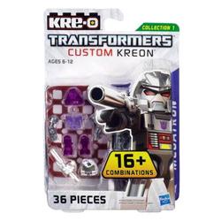 Конструктор с минифигуркой Трансформер Megatron 16-в-1, из серии Custom Kreon, KRE-O Transformers, Hasbro [A6088]