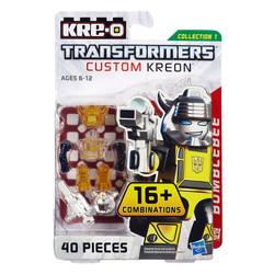 Конструктор с минифигуркой Трансформер Bumblebee 16-в-1, из серии Custom Kreon, KRE-O Transformers, Hasbro [A6087]