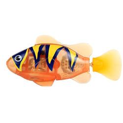 Интерактивная игрушка Робо-рыбка тропическая - Бычок, оранжевая, Robo Fish, Zuru [2549-5]