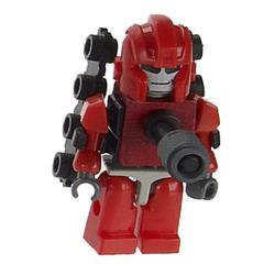 Конструктор-минифигурка Трансформер Warpath 2-в-1, из серии Kreon Micro-Changers 2013, KRE-O Transformers, Hasbro [A2200-43]