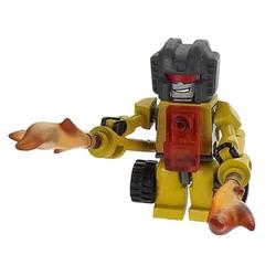 Конструктор-минифигурка Трансформер Singe 2-в-1, из серии Kreon Micro-Changers 2013, KRE-O Transformers, Hasbro [A2200-40]