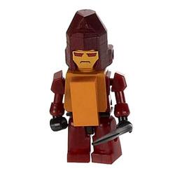 Конструктор-минифигурка Трансформер Rampage 2-в-1, из серии Kreon Micro-Changers 2013, KRE-O Transformers, Hasbro [A2200-45]