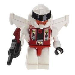 Конструктор-минифигурка Трансформер Quickslinger 2-в-1, из серии Kreon Micro-Changers 2013, KRE-O Transformers, Hasbro [A2200-44]