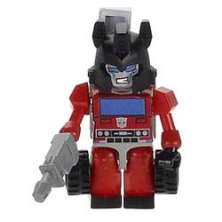 Конструктор-минифигурка Трансформер Inferno 2-в-1, из серии Kreon Micro-Changers 2013, KRE-O Transformers, Hasbro [A2200-41]