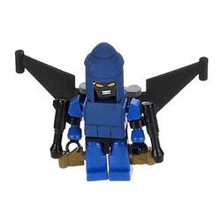 Конструктор-минифигурка Трансформер Dirge 2-в-1, из серии Kreon Micro-Changers 2013, KRE-O Transformers, Hasbro [A2200-49]
