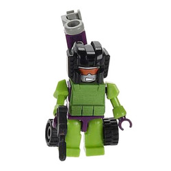 Конструктор-минифигурка Трансформер Decepticon Hook 2-в-1, из серии Kreon Micro-Changers 2013, KRE-O Transformers, Hasbro [A2200-48]