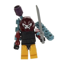 Конструктор-минифигурка Трансформер Decepticon Bludgeon 2-в-1, из серии Kreon Micro-Changers 2013, KRE-O Transformers, Hasbro [A2200-51]
