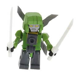 Конструктор-минифигурка Трансформер Autobot Springer 2-в-1, из серии Kreon Micro-Changers 2013, KRE-O Transformers, Hasbro [A2200-42]