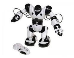 Радиоуправляемый робот WowWee Robosapien чёрно-белый