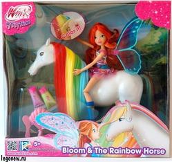 Winx IW02721318 Игровой набор Winx Club Блум и лошадка Рейнбоу