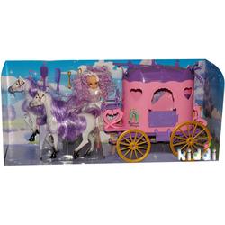 Кукольный набор Bambi 38786 Карета с куклой