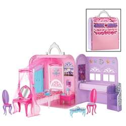 Дом Barbie The Princess & The Popstar Royal Bed & Bath (Х3706, X3706)