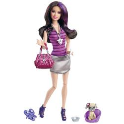 Кукла Mattel Barbie Модница с любимцем в ассорт (Х2278)