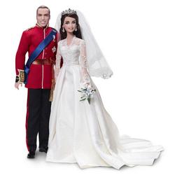 Куклы Mattel Barbie Королевская свадьба: Уильям и Кейт (Ш3420)