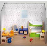 Мебель для домика для кукол Детская комната 28 элементов