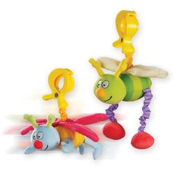 Игрушка-подвеска на прищепке - ЖУЖУ (в ассорт. дрожащие дрожащие бабочка и пчёлка)