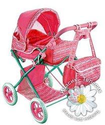 Fei Li Коляска для кукол Катрин, классическая с сумкой