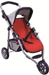 Трехколесная коляска для кукол, 65x32x50 cm, Bino