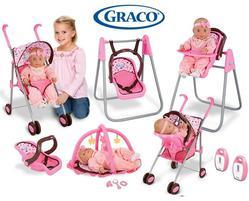 Игровой набор Graco Baby Doll Playset 5 в 1