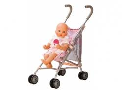 Коляска для куклы BABY ANNABELL (прогулочная, складная), Zapf