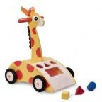 Каталка-ходунки Жирафик с сортером Wonderworld