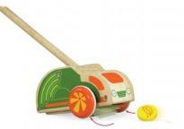 Каталка на палке Машинка с аксессуарами Wonderworld