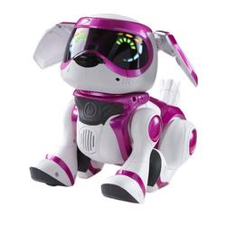 Интерактивный щенок Текста (TEKSTA Robotic Puppy), розовый, 4G [1117056]