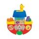 Развивающая игрушка KiddielandPreschool ЛОДОЧКА (для игры в ванной) (art:029645) (f:092056)